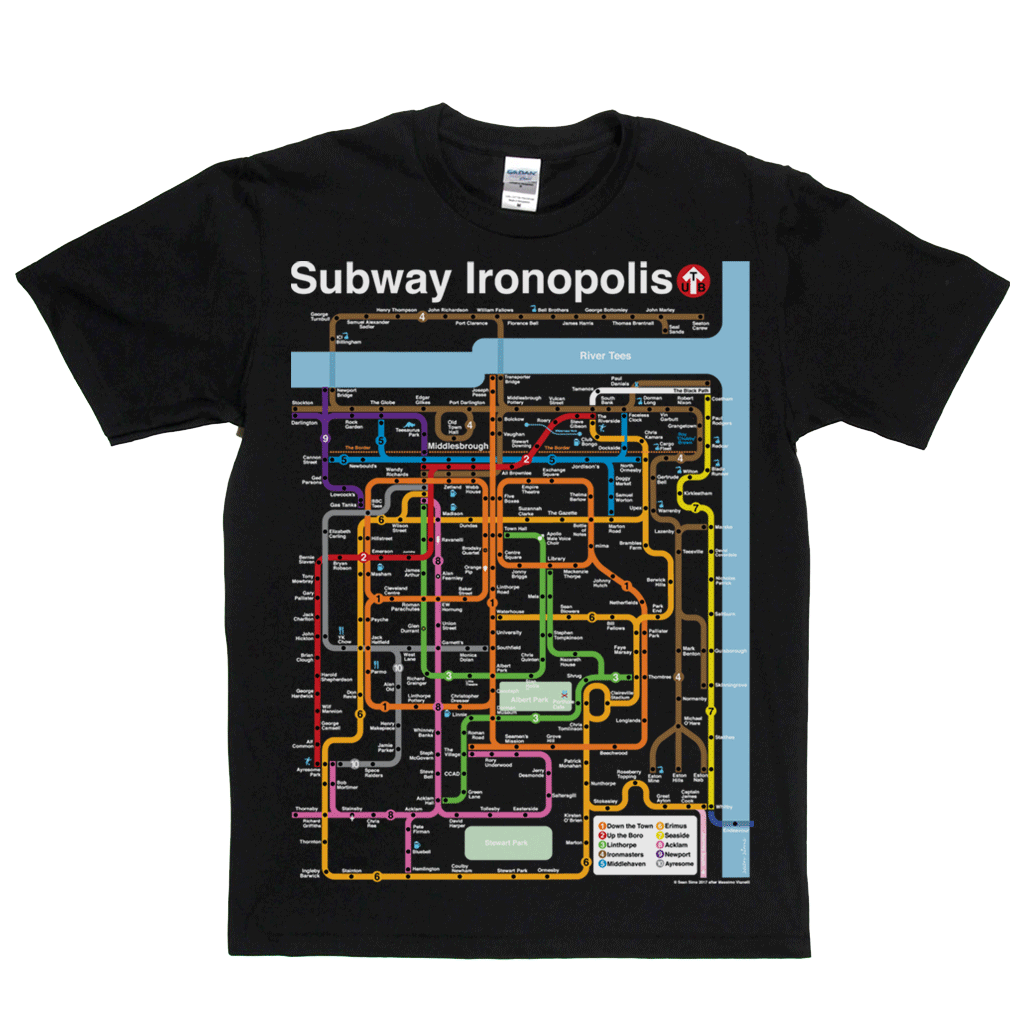 Subway Ironopolis Regular T-Shirt