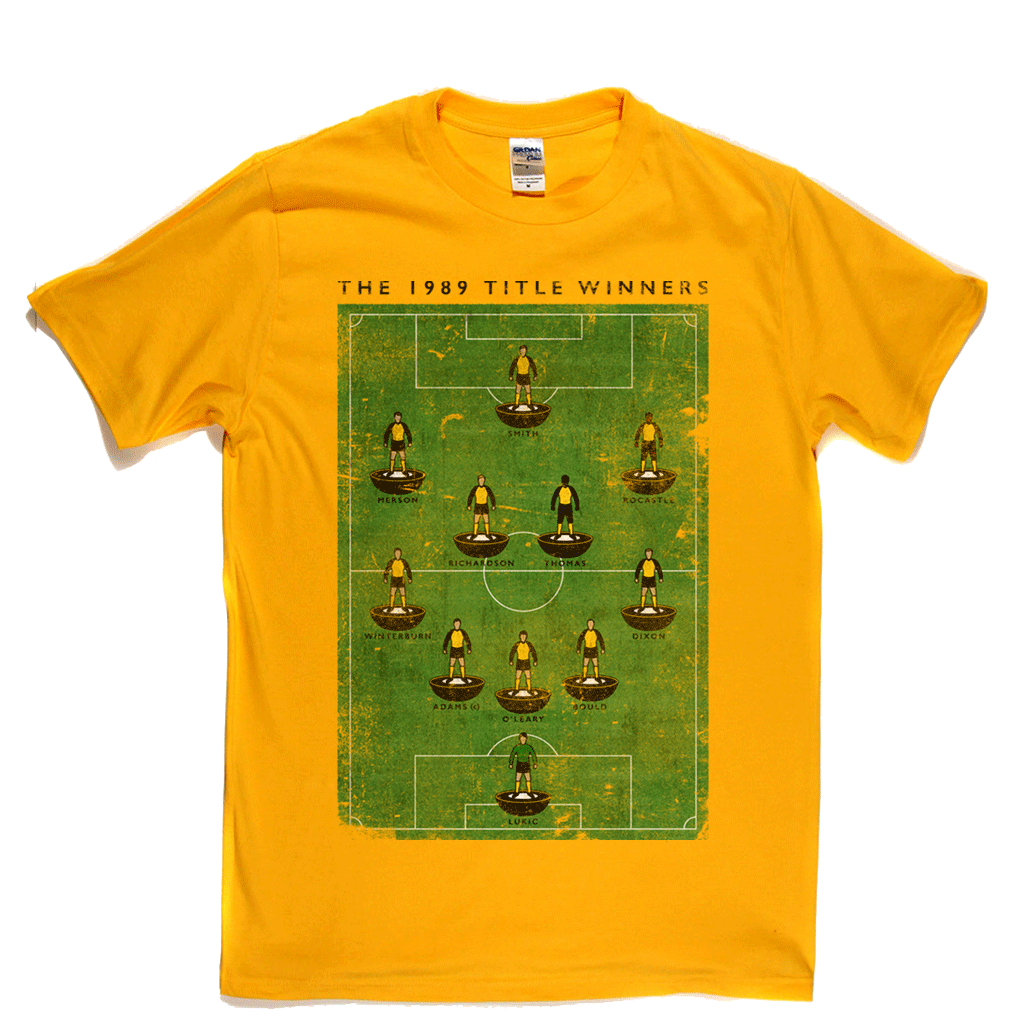 The 1989 Title Winners Regular T-Shirt