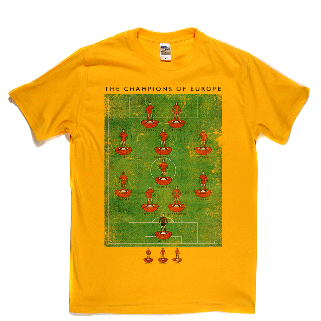 The Champions Of Europe Regular T-Shirt