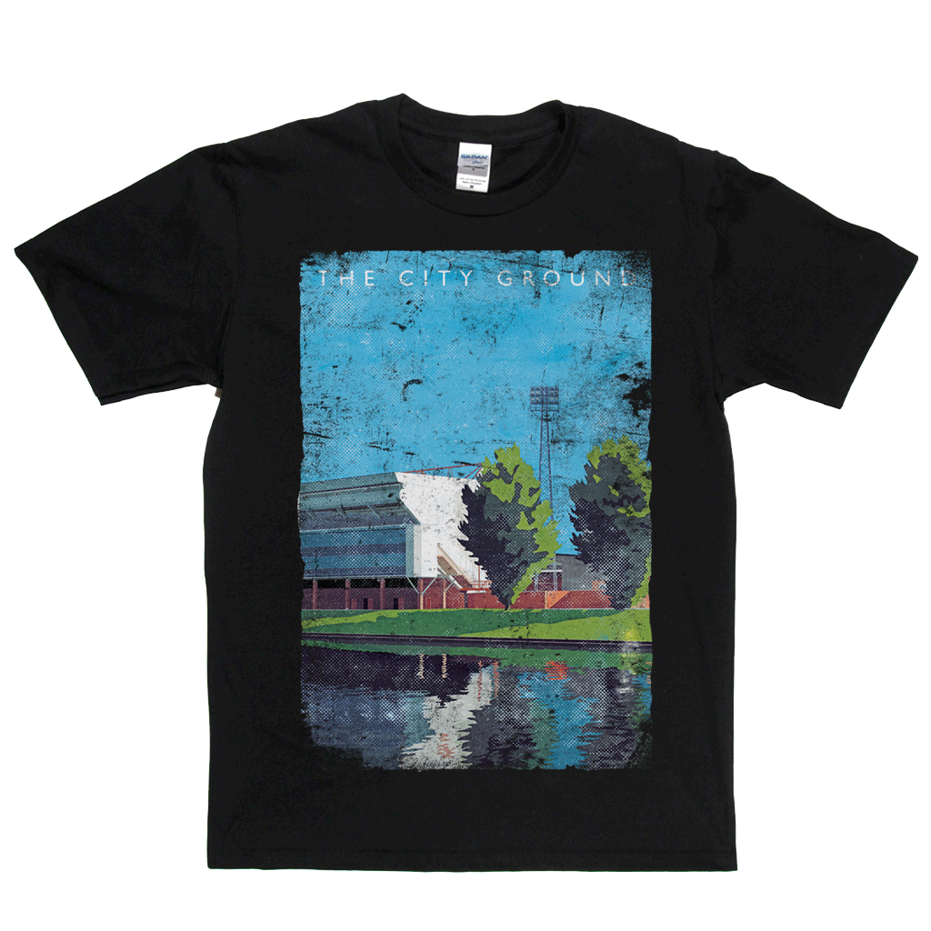 The City Ground Poster Regular T-Shirt
