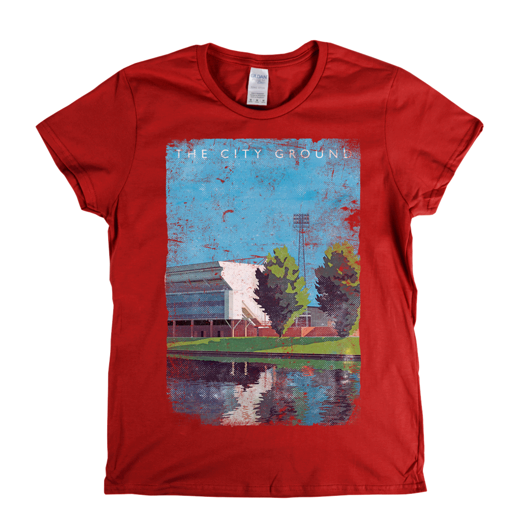 The City Ground Poster Womens T-Shirt