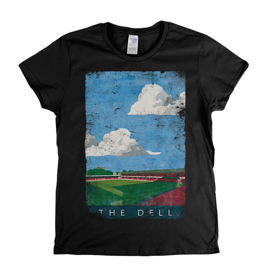 The Dell Poster Womens T-Shirt