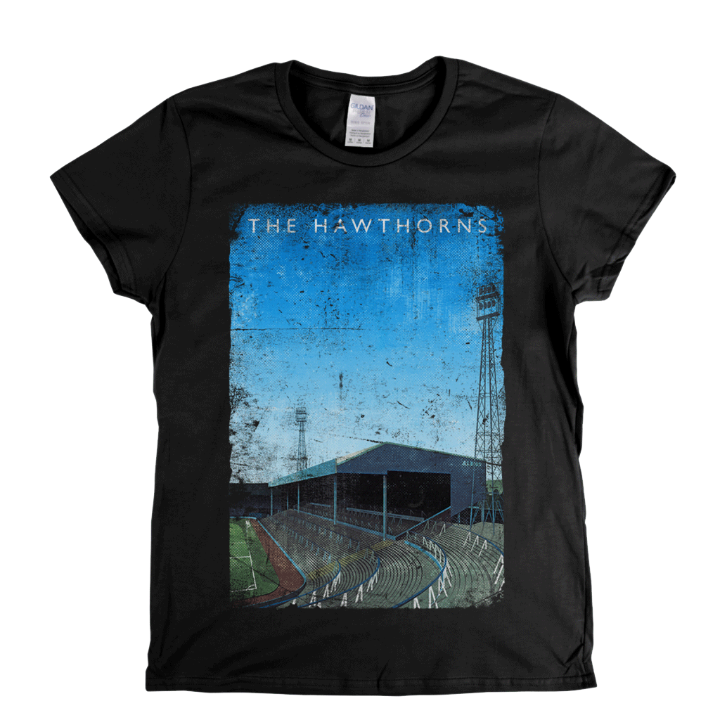 The Hawthorns Football Ground Poster Womens T-Shirt