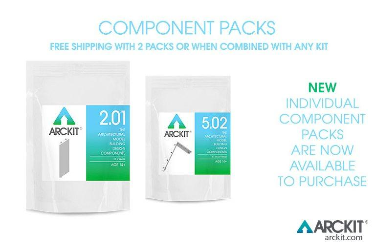ARCKIT COMPONENT PACKS NOW AVAILABLE