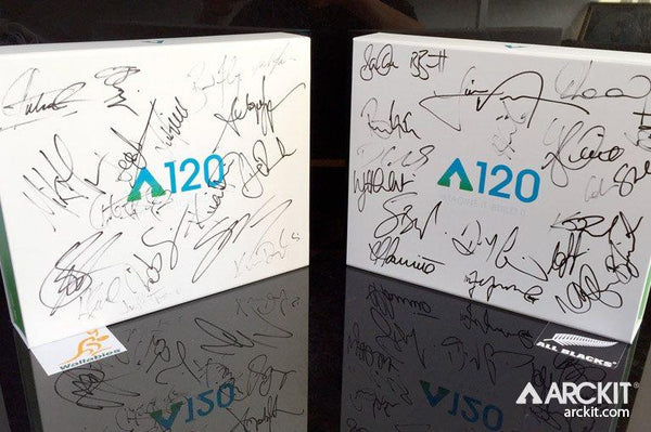 AUCTION: ARCKIT SIGNED BY RUGBY WORLD CUP 2015 FINALISTS