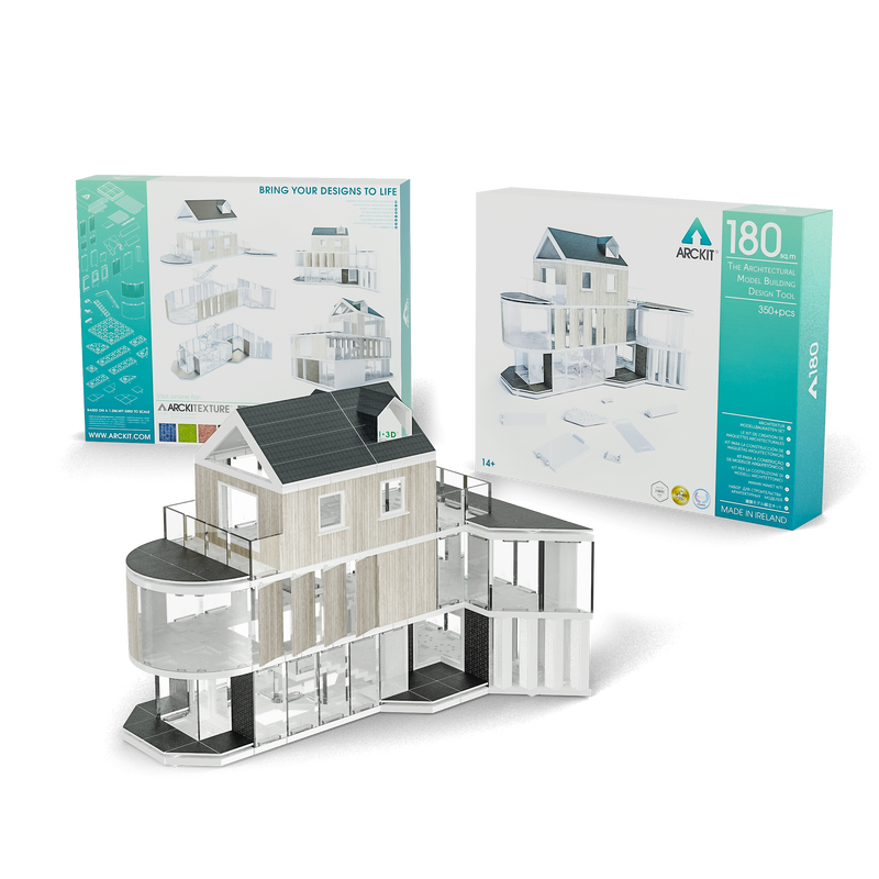 350 piece Architectural Model Kit - Arckit 180