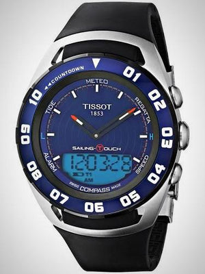 Tissot Sailing Touch Alarm Chronograph T 0564202704100 T-Sport Watch