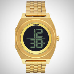 Nixon Time Teller Digi SS A 948-502 Unisex Chronograph Gold Watch