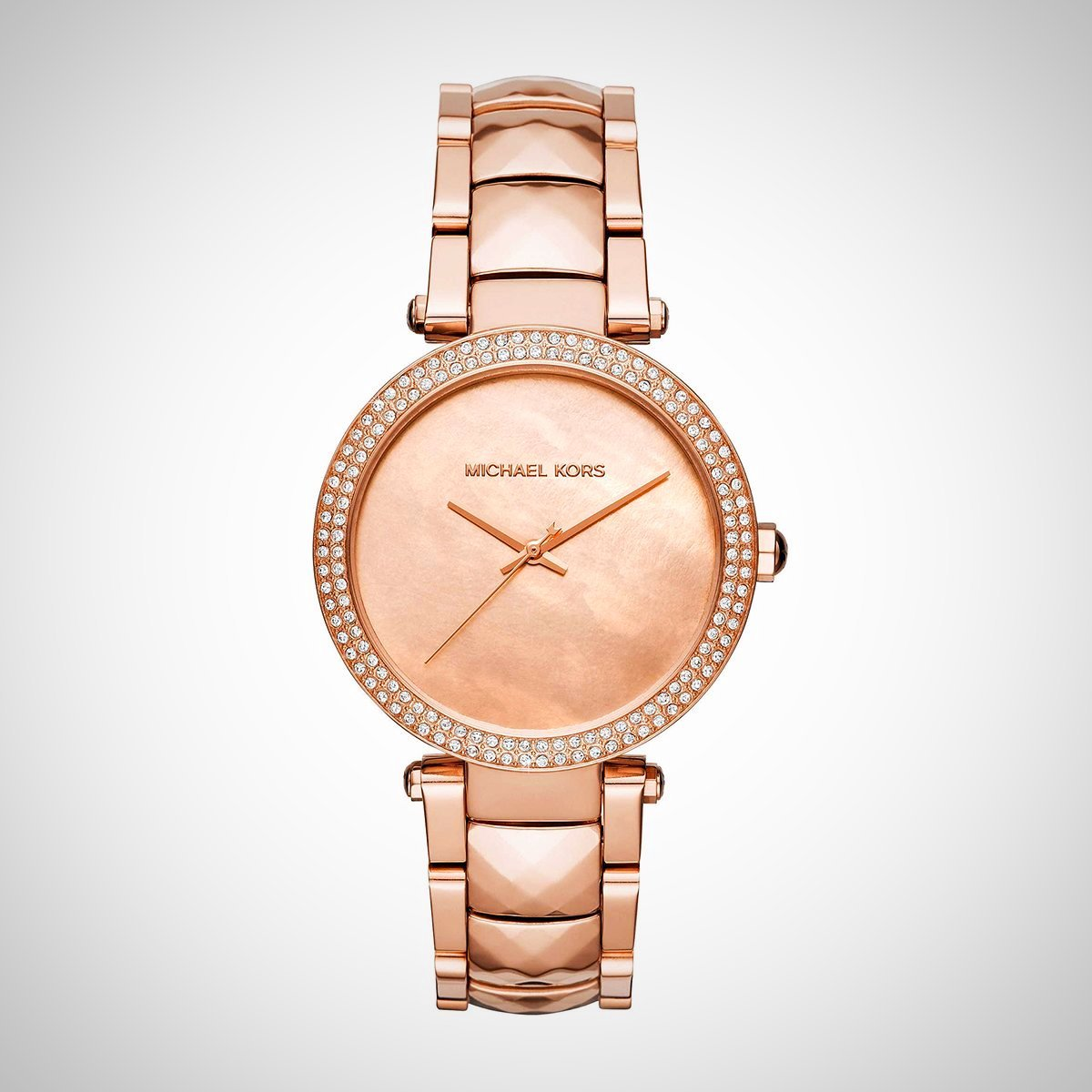 Michael Kors MK6426 Parker Damen Rose Gold Edelstahl Watch