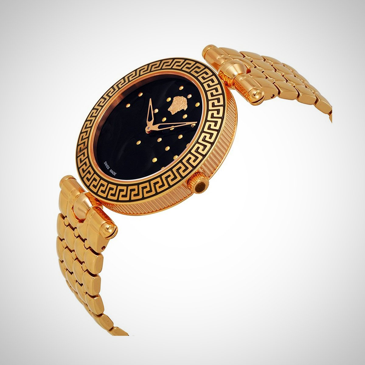 Versace Vanitas Damen PVD Rose Vergoldet Watch-VK7250015