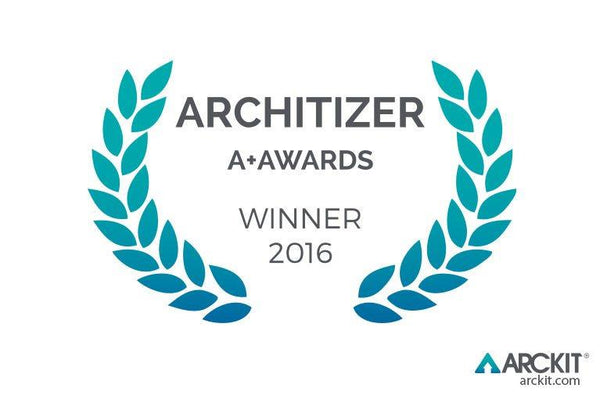 ARCKIT WINS ARCHITIZER A+ AWARD