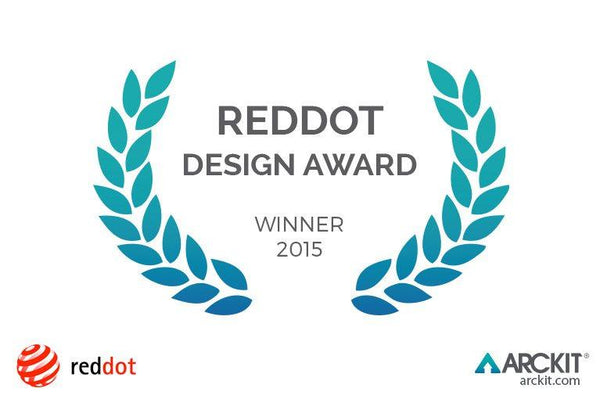 ARCKIT WINS RED DOT AWARD 2015