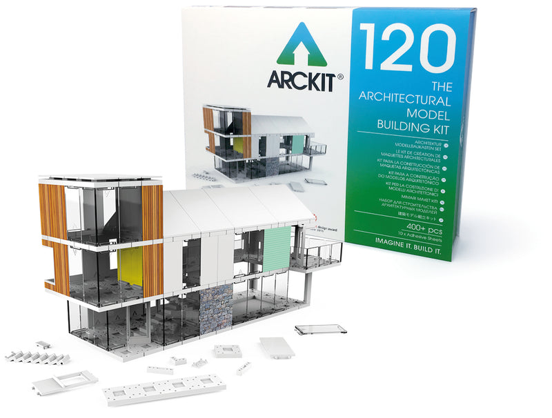 440 piece Architectural Model Kit - Arckit 120