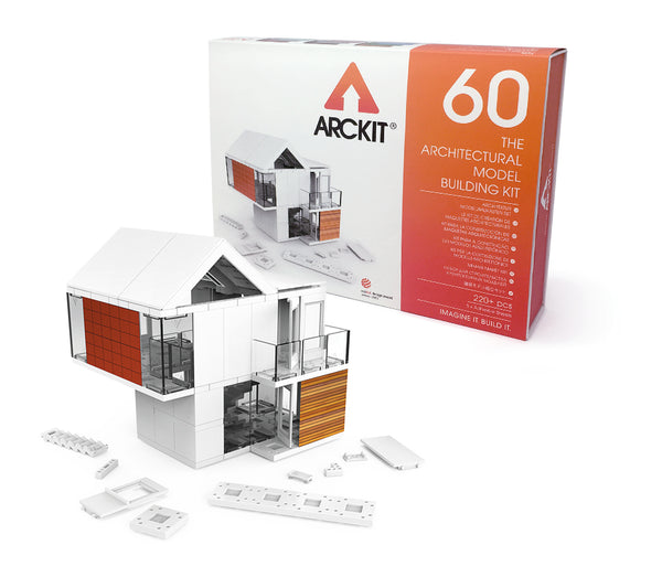 220 piece Architectural Modelling Kit - Arckit 60