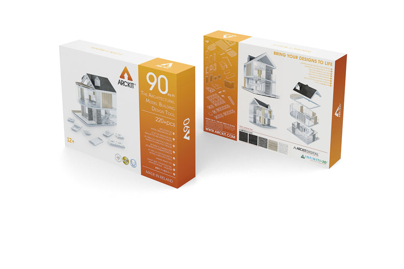 230+ piece Architectural Modelling Kit - Arckit 90