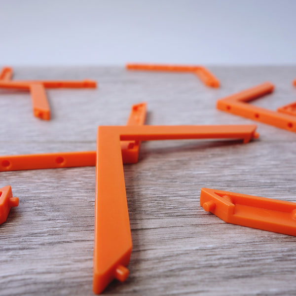 Roof Truss In Pure Orange Colour 5.02
