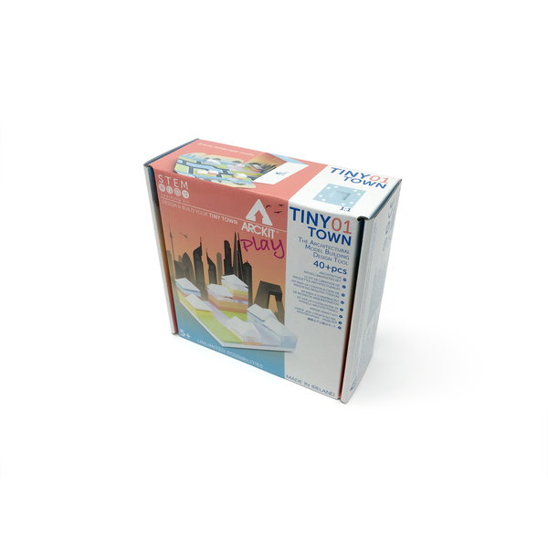 Tiny Town 1, Town,  40 piece Architectural Model Kit