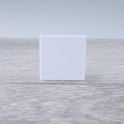 One-by-One White Smooth Floor or Roof Tile 5.01