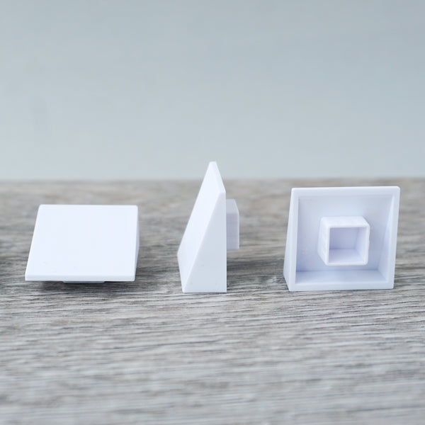 One-bye-One White Low Angled Tile 6.13