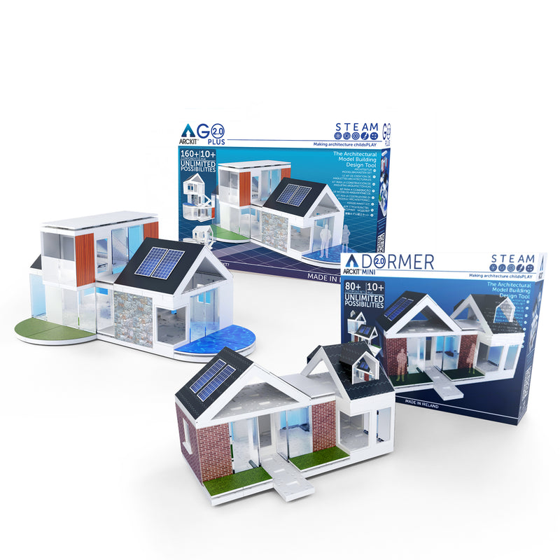 Bundle kit with a Go Plus and Mini Dormer scale model kit