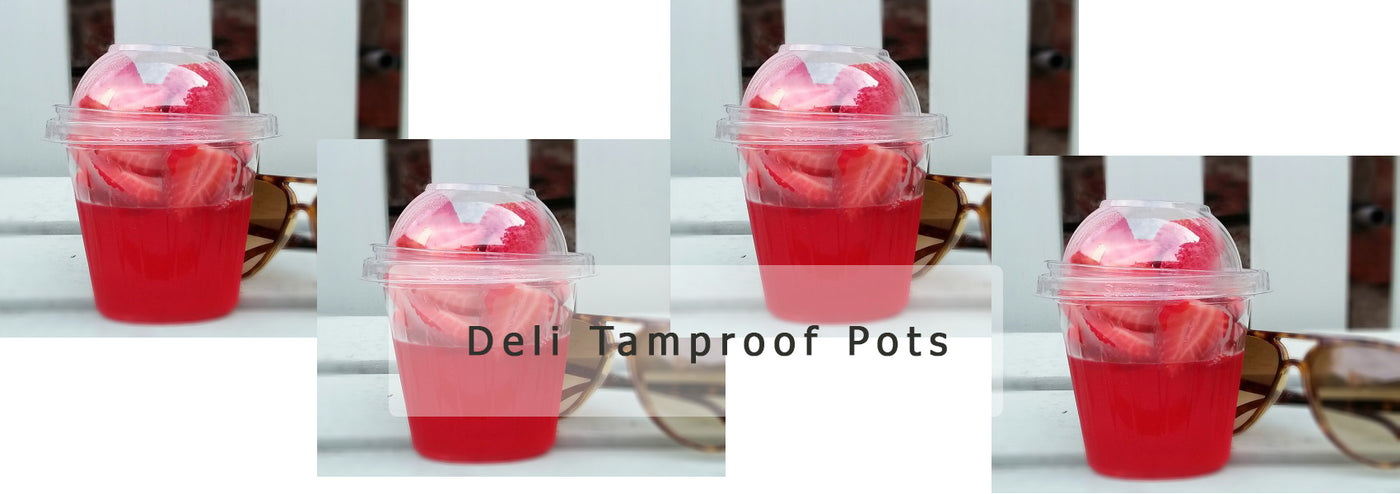 Tamper Proof Deli Pots