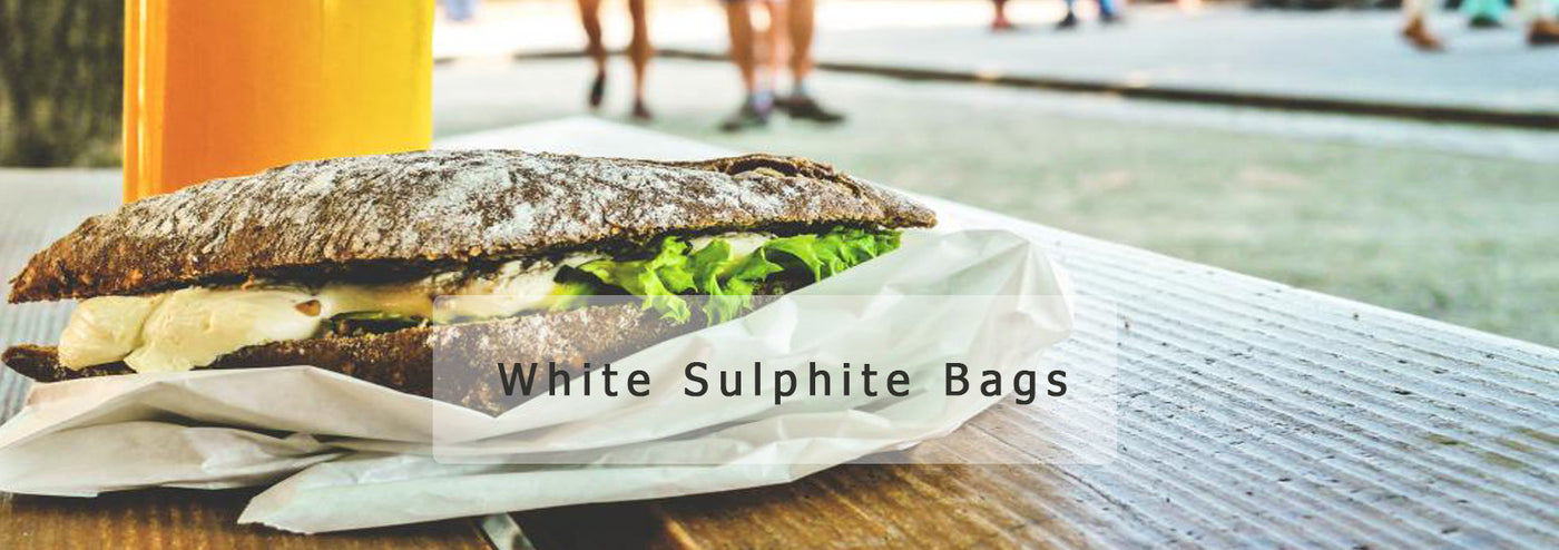 White/Brown Sulphite Bags
