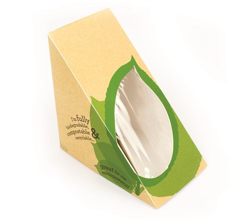 Deep fill sandwich bio wedge - GM Packaging UK Ltd