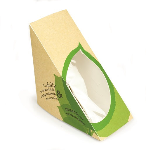 standard bio sandwich wedge - GM Packaging UK Ltd