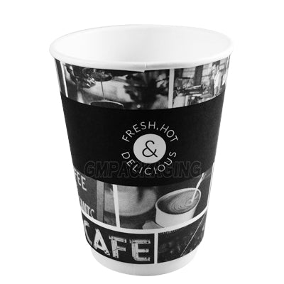 12oz Sorello Coffee Cups - GM Packaging (UK) Ltd