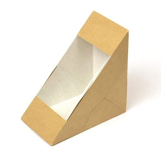 Deep fill kraft sandwich wedge - GM Packaging UK Ltd