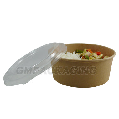 1300ml Kraft Bowl - GM Packaging (UK) Ltd