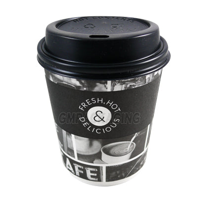 8oz Sorello Coffee Cups - GM Packaging (UK) Ltd