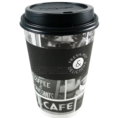 16oz Sorello Coffee Cups - GM Packaging (UK) Ltd