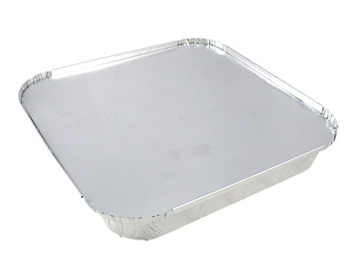 Paper Lids to fit Square Foil Containers - GM Packaging (UK) Ltd