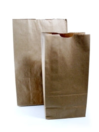 Large Kraft Block Bottom Bags - GM Packaging (UK) Ltd