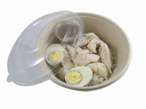 1000ml Biodegradable BePulp Bowls - GM Packaging (UK) Ltd