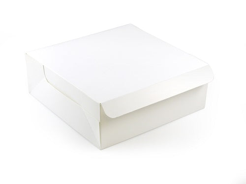 "7 x 7 x 3"" Quick Service Cake Boxes - GM Packaging (UK) Ltd"