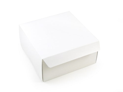 "6 x 6 x 3"" Hand Folding Cake Boxes - GM Packaging (UK) Ltd"