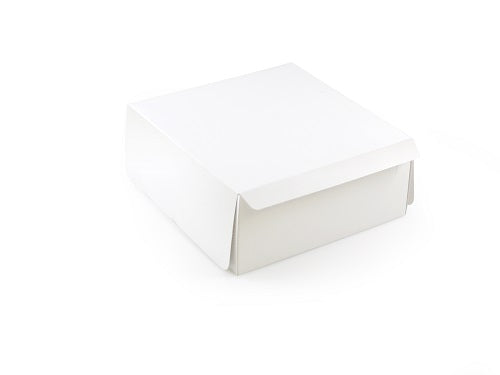 "7 x 7 x 3"" Hand Folding Cake Boxes - GM Packaging UK Ltd"