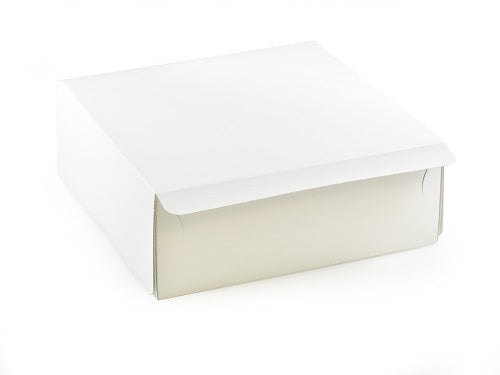 "8 x 8 x 3"" Hand Folding Cake Boxes - GM Packaging UK Ltd"