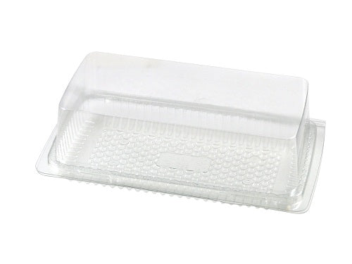 Rectangular Hinged Cake Container - GM Packaging (UK) Ltd