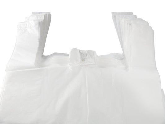 13 x 19 x 23 inch Vest Carrier Bags - GM Packaging (UK) Ltd