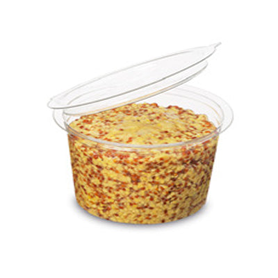 100ml Round Dip Pot with Hinged Lid - GM Packaging (UK) Ltd