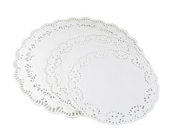 12 inch White Paper Doilies - GM Packaging (UK) Ltd