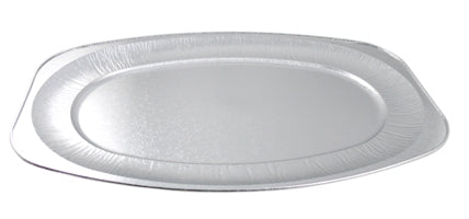 "22"" Oval Foil Disposable Platters - GM Packaging (UK) Ltd"