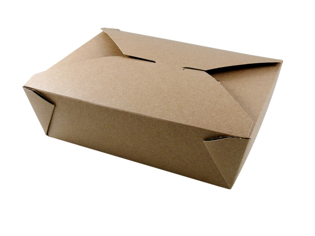 Plastic Free Kraft Food Boxes #3 - GM Packaging (UK) Ltd