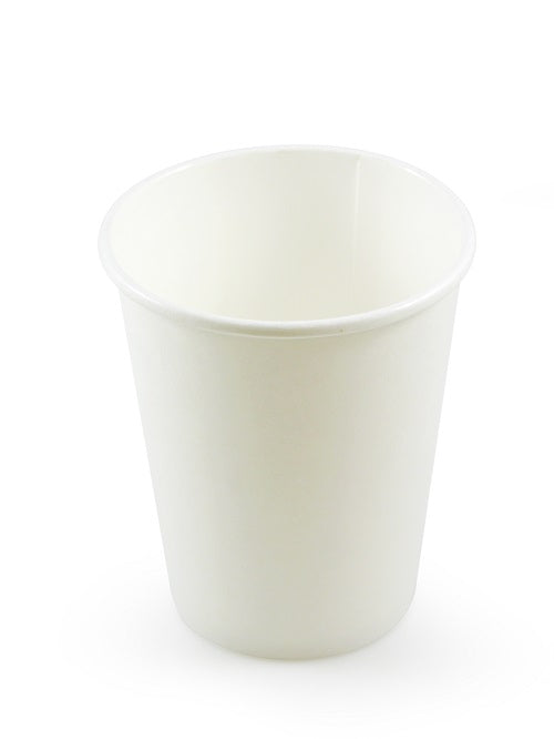 12oz White Paper Coffee Cups - GM Packaging (UK) Ltd