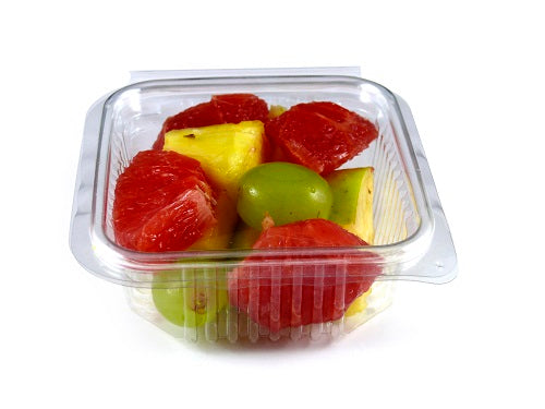 250cc Square Plastic Salad Container - GM Packaging (UK) Ltd