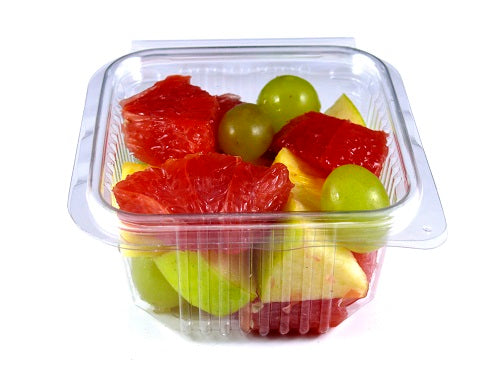 375cc Square Plastic Salad Container - GM Packaging (UK) Ltd