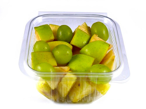 500cc Salad Container Hinged Lids - GM Packaging UK Ltd